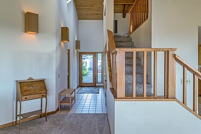 Entry & Stairs to Loft
