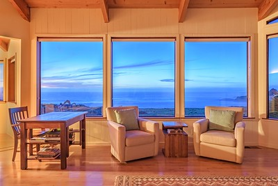 Living Room at Twilight