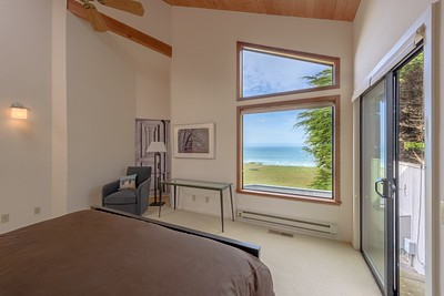 Master Bedroom with Ocean View from Bed