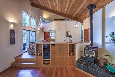 Living Room Media Area