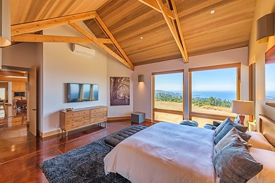 Views of Black Point from Master Bedroom