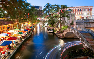 Riverwalk, San Antonio, Texas, America