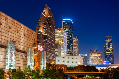 Skyline, Houston, Texas, America