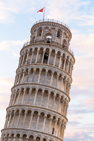 Close Up, Leaning Tower of Pisa, Pisa, Tuscany, Italy