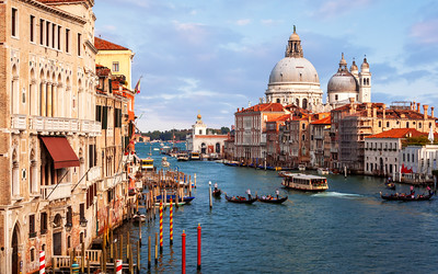 Daytime, The Grand Canal, Venice, Italy