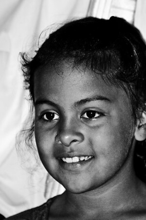 Massachusetts, USA- A lovely young girl whose eyes smile all the time.