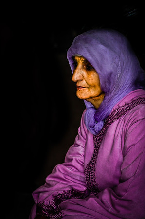 Old Lady from Marrakesh