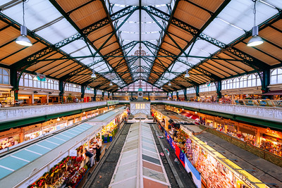 Cardiff Market, Cardiff, Wales