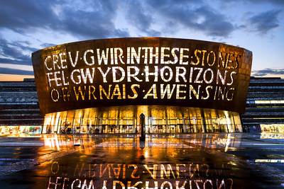 The Millennium Centre, Cardiff, Wales