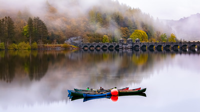 Boats, Lake Vyrnwy, North Wales