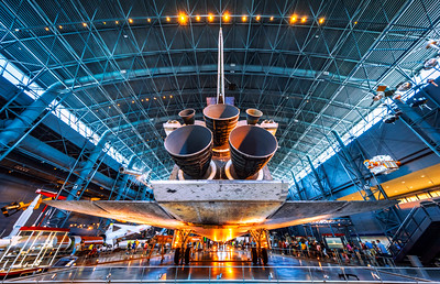 Space Shuttle Discovery, Steven F. Udvar-Hazy Center, National Air and Space Museum, Washington DC, America
