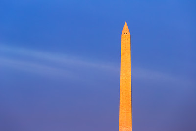 Sunrise, Washington Monument, Washington DC, America
