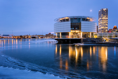Blue Hour, Discovery World, Milwaukee, America
