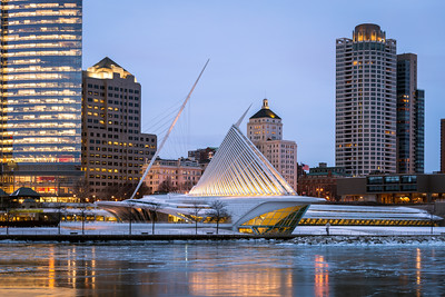 Early Morning, Milwaukee Art Museum, Milwaukee, America