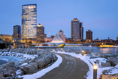 Skyline, Milwaukee, America