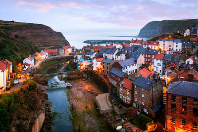 Sunrise, Staithes, Yorkshire, England