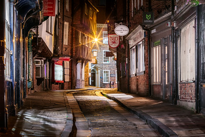 Late Night, The Shambles, York, Yorkshire, England