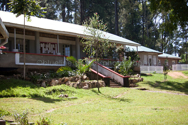 This is the main classroom block of the school we used to work at.