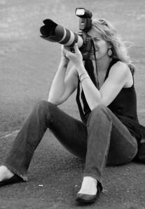 Jodi_taking pics_reduced_b&w