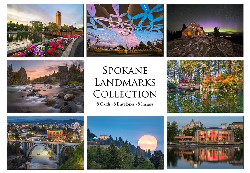 spokane notecard collection for store
