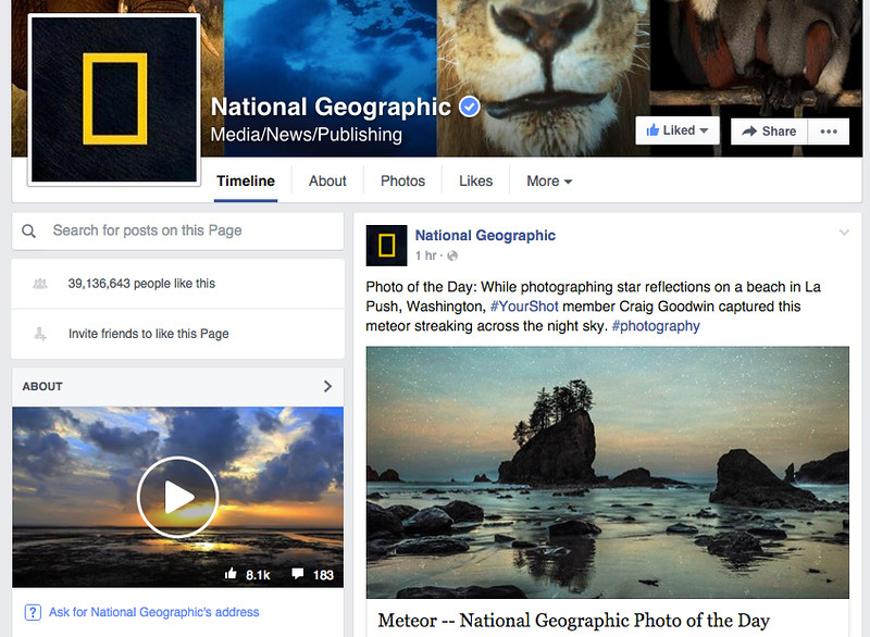 nat geo facebook copy