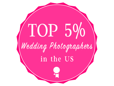 top 5% logo pink