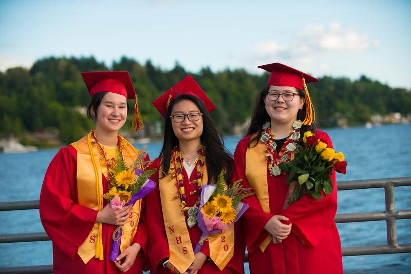 Newport High Graduation