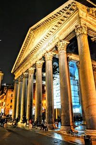 """""""Grandeur after Dark"""" Pantheon - Rome"""