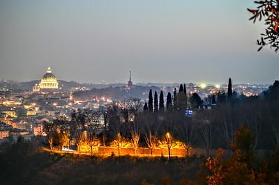 """""""Roma al Tramonto"""" (Rome at Dusk)"""