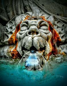 """Bubbling Happiness"" - Marforio Fountain - Roma"