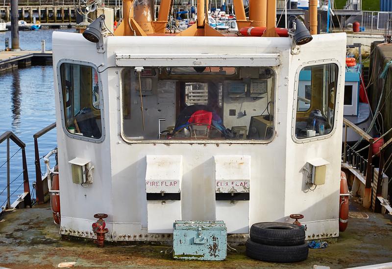 Fishing Boat in Girvan Harbour - 6 March 2017