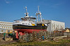 Arcturus at Girvan Harbour - 6 March 2017