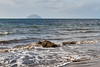 Ailsa Craig from Girvan Beach - 6 March 2017