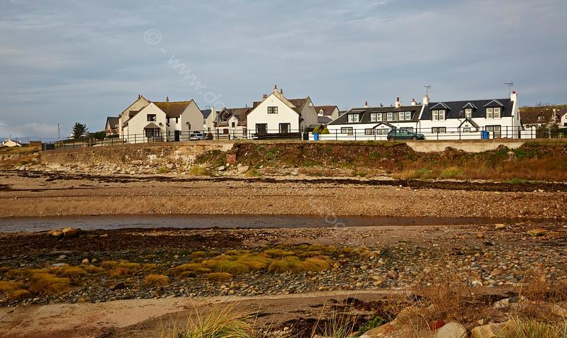 Blackwaterfoot on the Isle of Arran - 29 October 2014