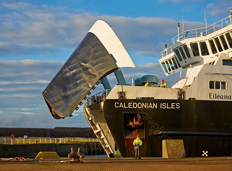 'Caledonian Isles' at Ardrossan Ferry Terminal - 18 November 2014