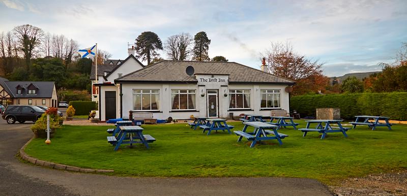 'The Drift Inn' at Lamlash on the Isle of Arran - 29 October 2014