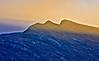 Mountain Range on the Isle of Arran - 18 November 2014