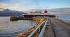 'Caledonian Isles' berthing at Brodick - 29 October 2014