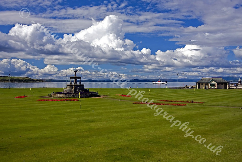 View of Largs Putting Green