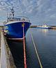 Artemis in Buckie Harbour - 12 April 2016