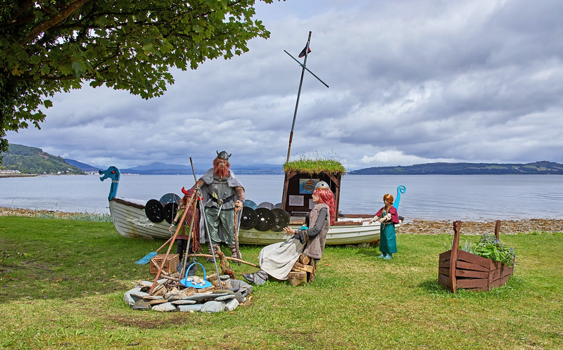 Vikings Display at Cluniter - 25 July 2020