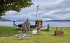 Vikings Display at Cluniter - 25 July 2020