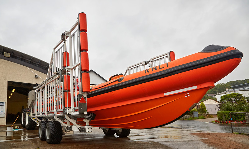 RNLI Lifeboat at Tighnabruaich - 2 August 2016