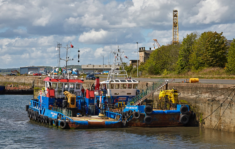 Burntisland Harbour - 14 May 2017