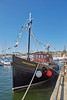 'Britannia' in Harbour at Anstruther - 26 May 2017