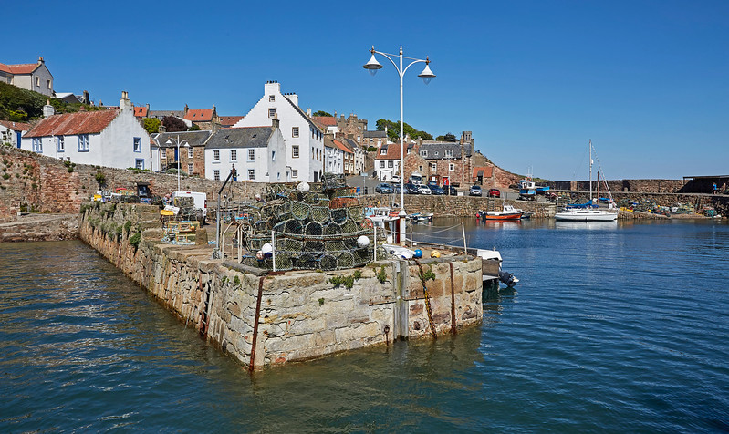 Harbour at Crail - 26 May 2017