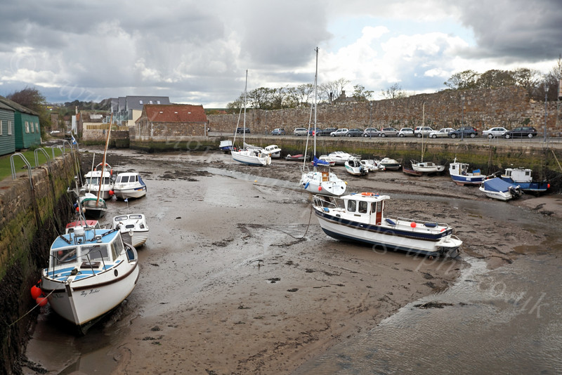 Harbour at Low Tide - St Andrews - 27 April 2012
