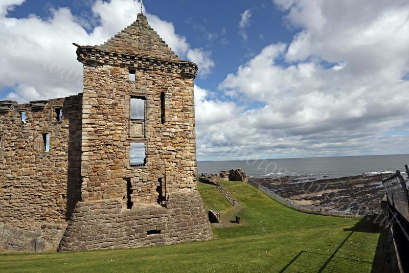St Andrews Castle - 27 April 2012