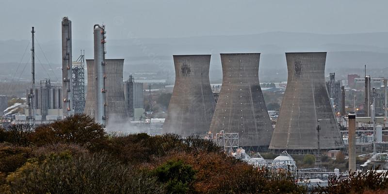 Refinery at Grangemouth - 18 October 2014