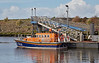 RNLB Silvia Burrell in Girvan Harbour - 6 March 2017